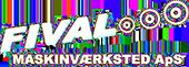 Fival Maskinværksted Logo